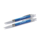 Push Action Ball Pen & Pencil Set