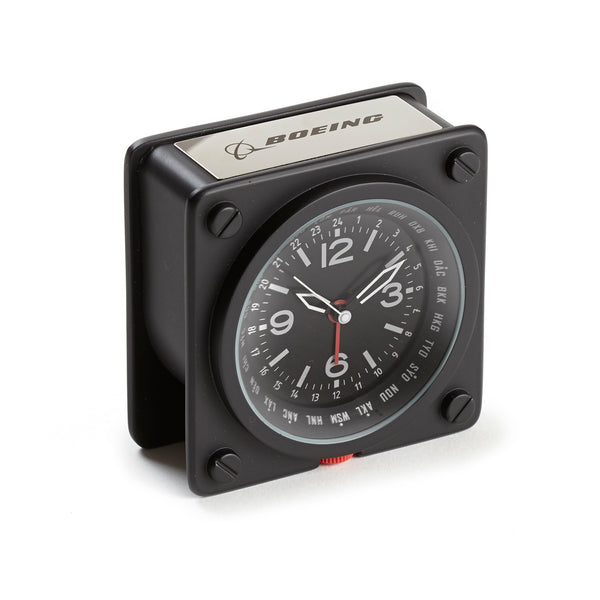 Pilot World Time Alarm Clock