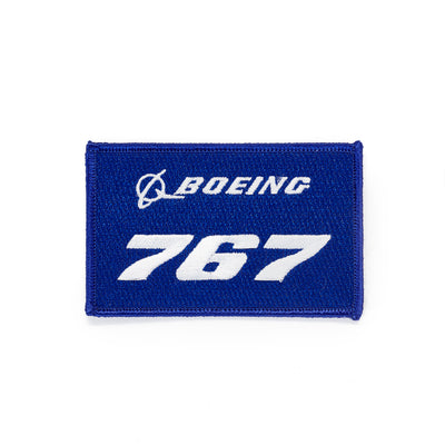 Boeing 767 Stratotype Embroidered Patch