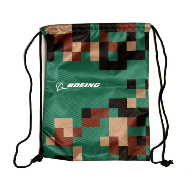 Boeing Defense Pattern Cinch Bag