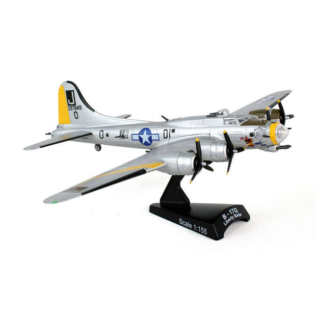 B-17 Flying Fortress Liberty Belle Diecast Model