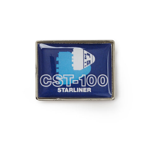 CST-100 Starliner Shadow Graphic Lapel Pin