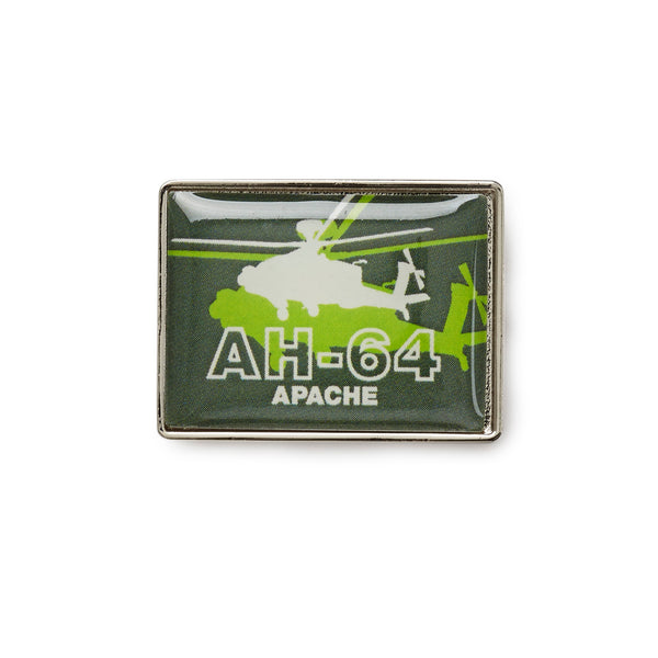 AH-64 Shadow Graphic Lapel Pin