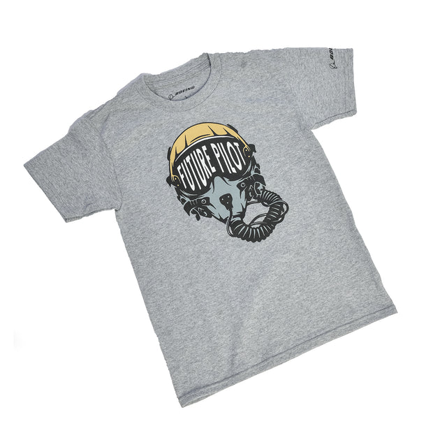 Boeing Kids' Future Military Pilot T-Shirt (2958512062586)