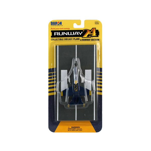 Runway24 F/A-18 Die-Cast Model -- Blue Angels