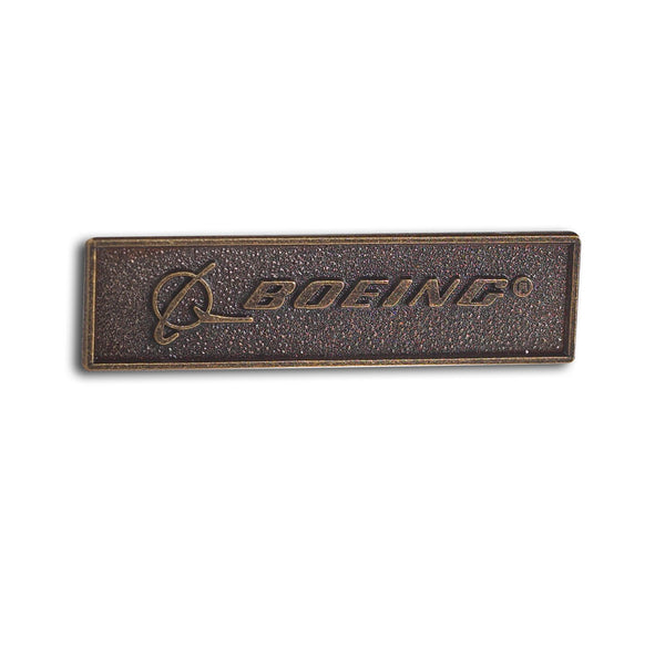 Boeing Signature Bronze Pin