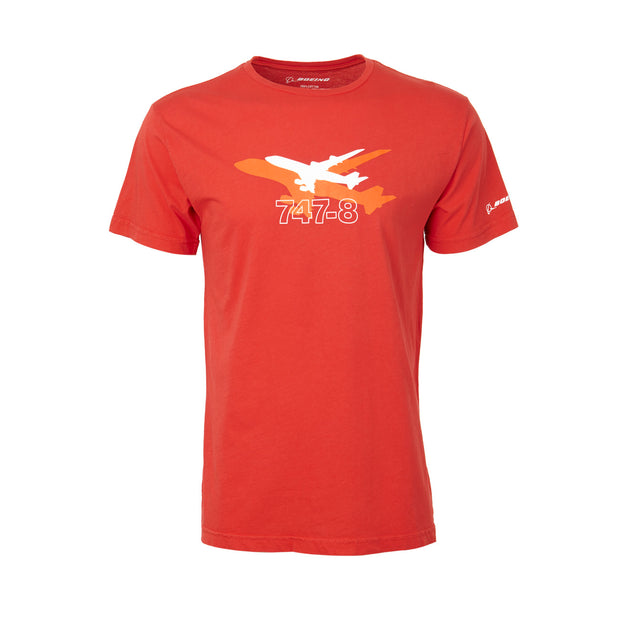 Boeing Shadow Graphic 747-8  T-Shirt
