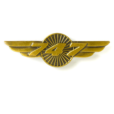 Boeing 747 Wings Pin