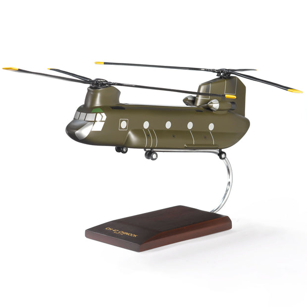 Boeing CH-47D Chinook Wood 1:48 Model