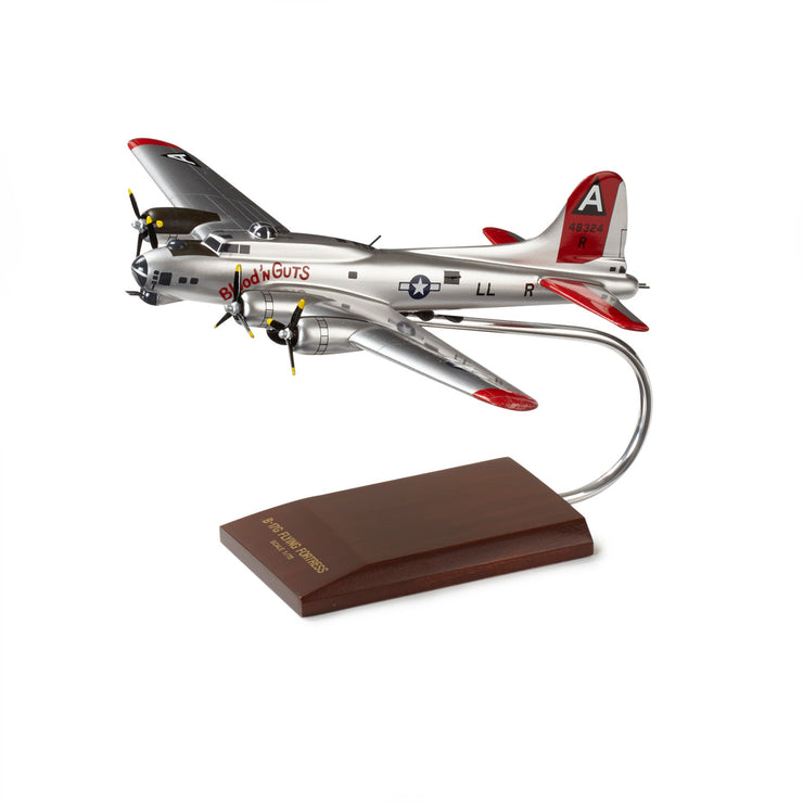 Boeing B-17G Flying Fortress Wood 1:72 Model (2883813965946)