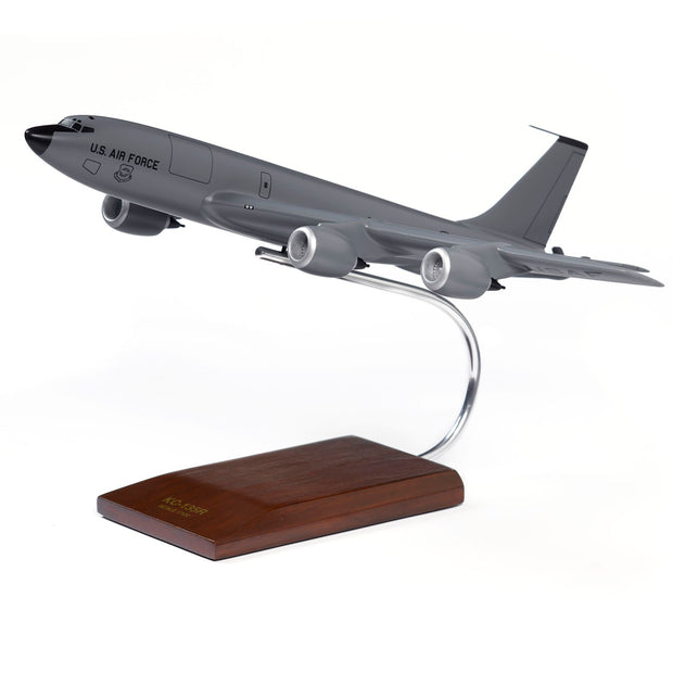 Boeing KC-135R Stratotanker Wood 1:100 Model (11576263948)