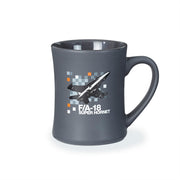 F/A-18 Super Hornet Pixel Graphic Mug (2190269907066)