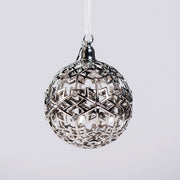 Boeing Jet Snowflake 2019 Ball Holiday Ornament
