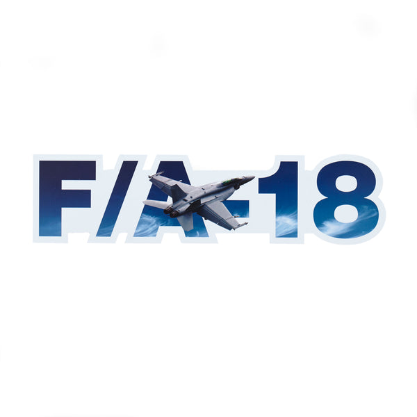 F/A-18 E/F Super Hornet Die-Cut Sticker