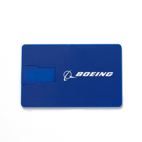 16 GB Boeing Credit Card USB