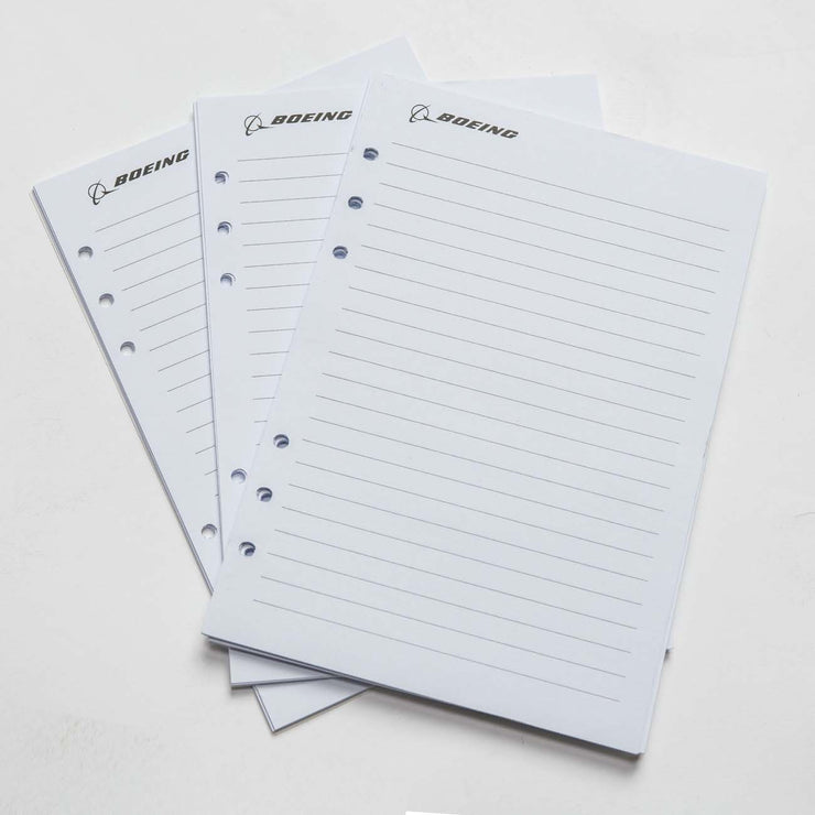 Boeing Heathered Notebook Refill Sheets