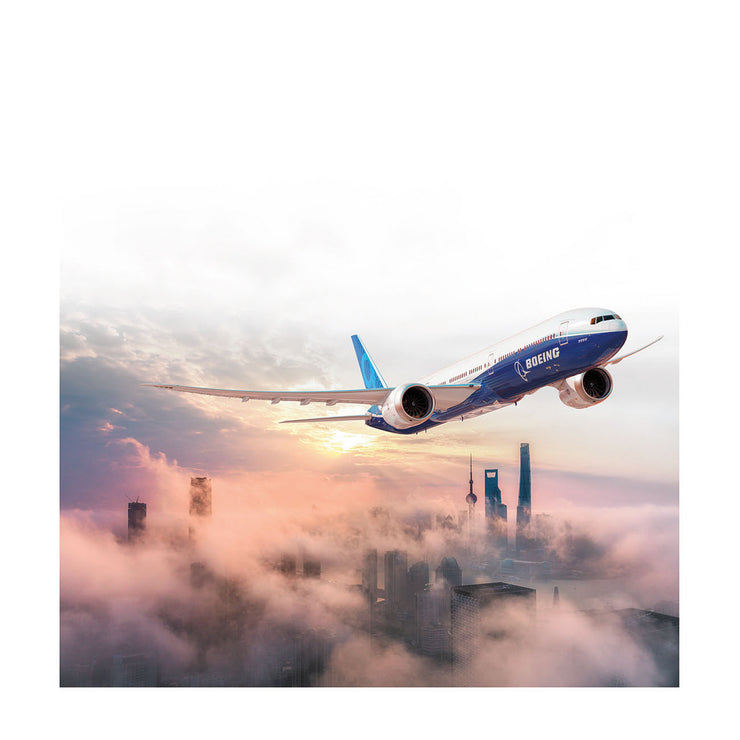 Boeing 777X Matted Print - Small