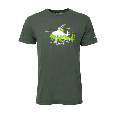 Boeing Shadow Graphic AH-64 T-Shirt (199428767756)