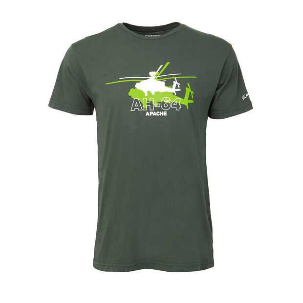 Boeing Shadow Graphic AH-64 T-Shirt