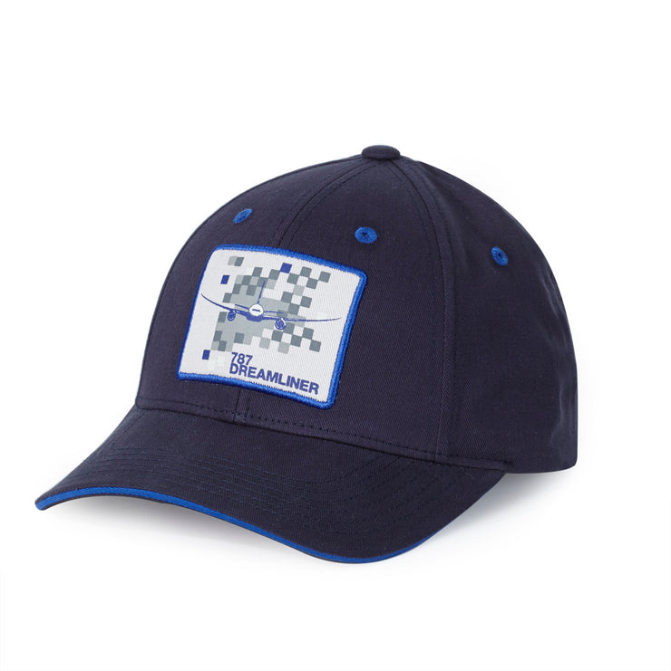 Boeing 787 Dreamliner Pixel Graphic Hat