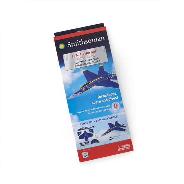 Smithsonian Boeing F/A-18 Blue Angels Glider Kit - Large (221663559692)
