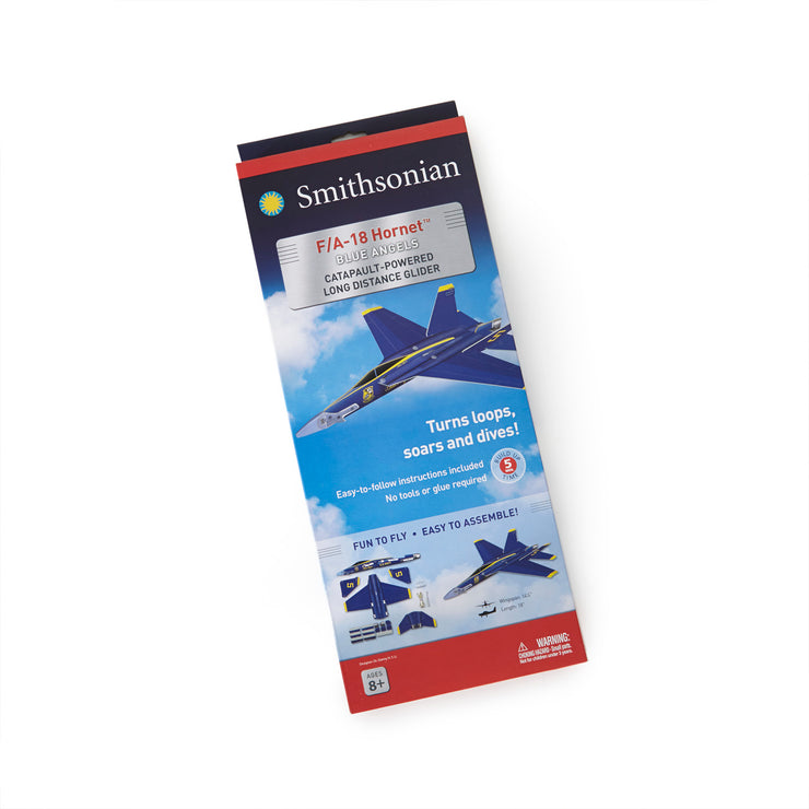 Smithsonian Boeing F/A-18 Blue Angels Glider Kit - Large