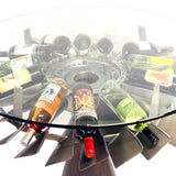 DC-9 JT8D Engine Rotor Wine Bottle Table