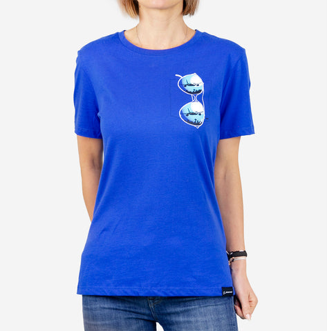 Ames Bros Boeing Women's 787 Aviator T-Shirt
