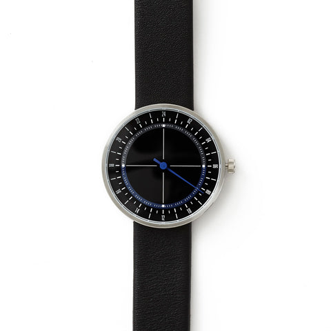 Black One-Handed Watch
