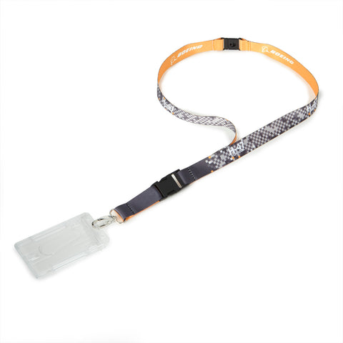 H-47 Chinook Pixel Graphic Lanyard