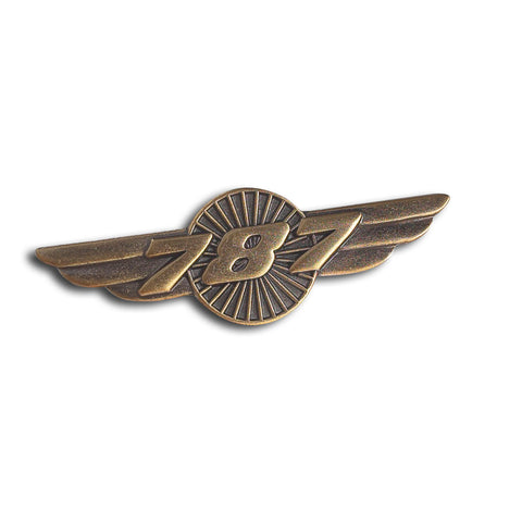 787 Dreamliner Wings Pin