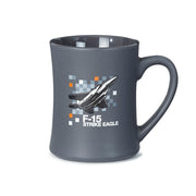 F-15 Strike Eagle Pixel Graphic Mug (2190269710458)