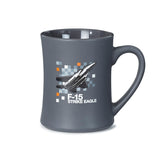 F-15 Strike Eagle Pixel Graphic Mug