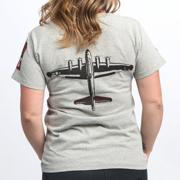 Red Canoe Boeing Women's Heritage B-17 T-Shirt (2285095977082)