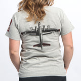 Red Canoe Boeing Women's B-17 T-Shirt