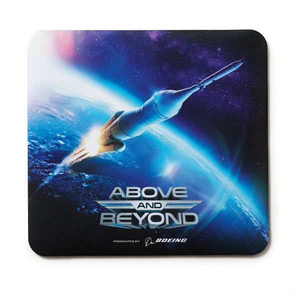 Above and Beyond Mega Rocket  Mousepad