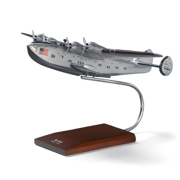 Boeing B-314 Clipper Wood 1:100 Model (6403275270)