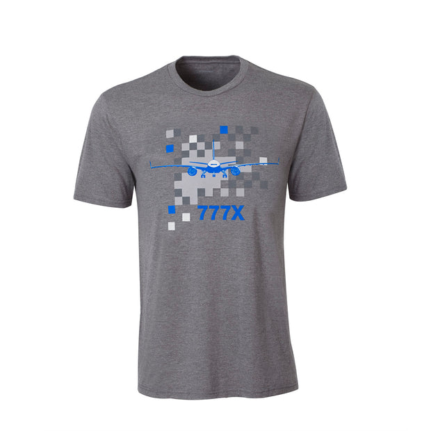 777X Pixel Graphic T-Shirt