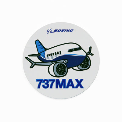 Boeing 737 MAX Pudgy Sticker