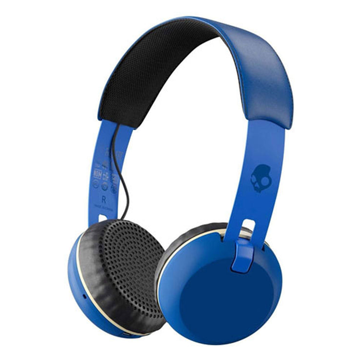 Skullcandy Grind Bluetooth Headphones - Blue
