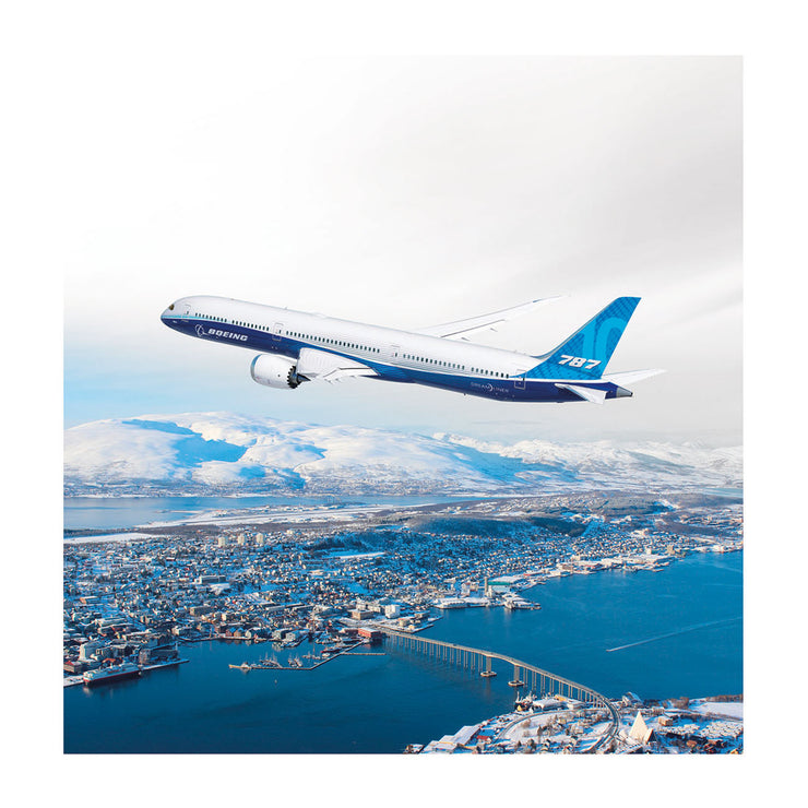 Boeing 787 Dreamliner Matted Print - Small (2752895844474)