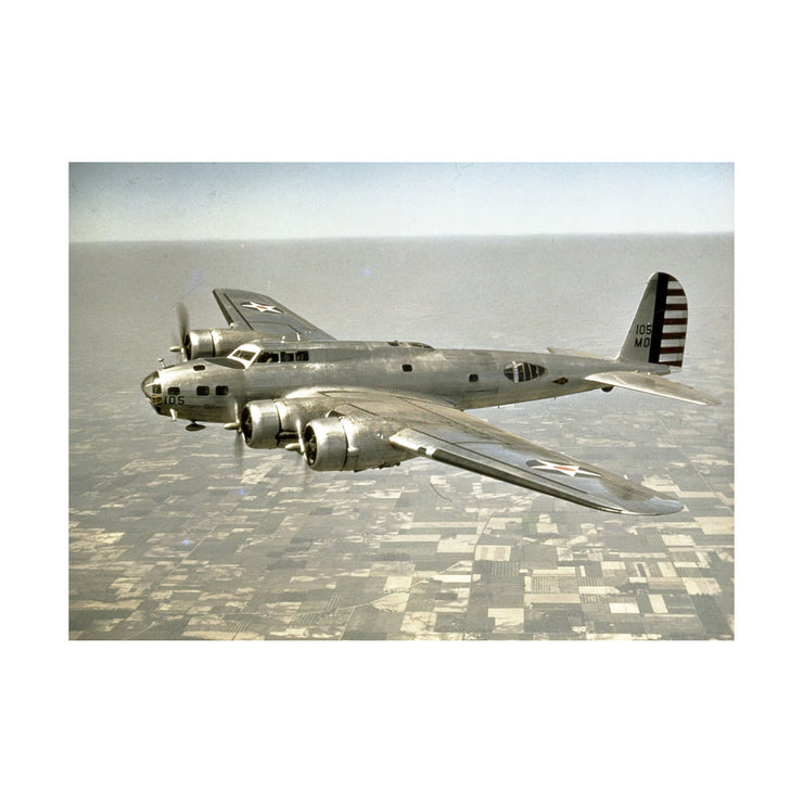 Boeing B-17 Matted Print