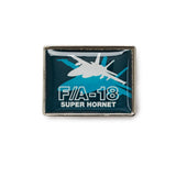 F/A-18 Shadow Graphic Lapel Pin