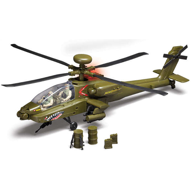 Boeing AH-64 Apache Helicopter Toy (2169366544506)
