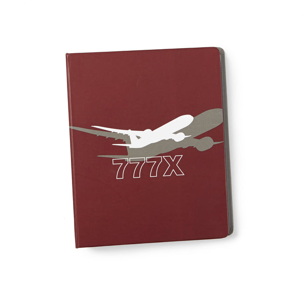777X Shadow Graphic Notebook