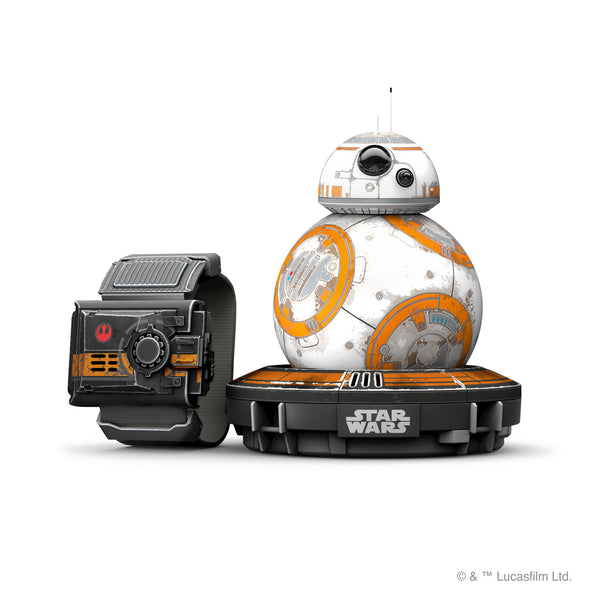 Special-Edition Sphero BB-8 App-Enabled Droid With Force Band