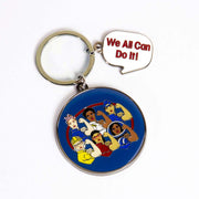 Boeing Rosie We All Can Do It! Keychain