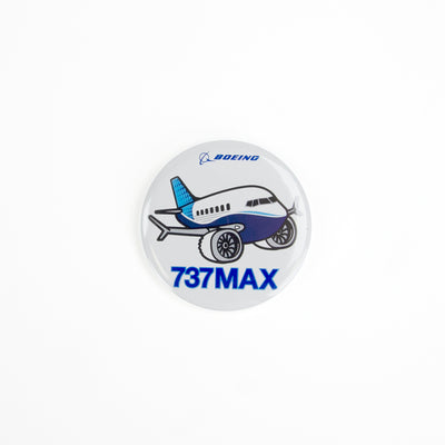 Boeing 737 MAX Pudgy Button (2865749196922)