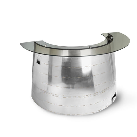 DC-10 Engine Cowling Reception Desk
