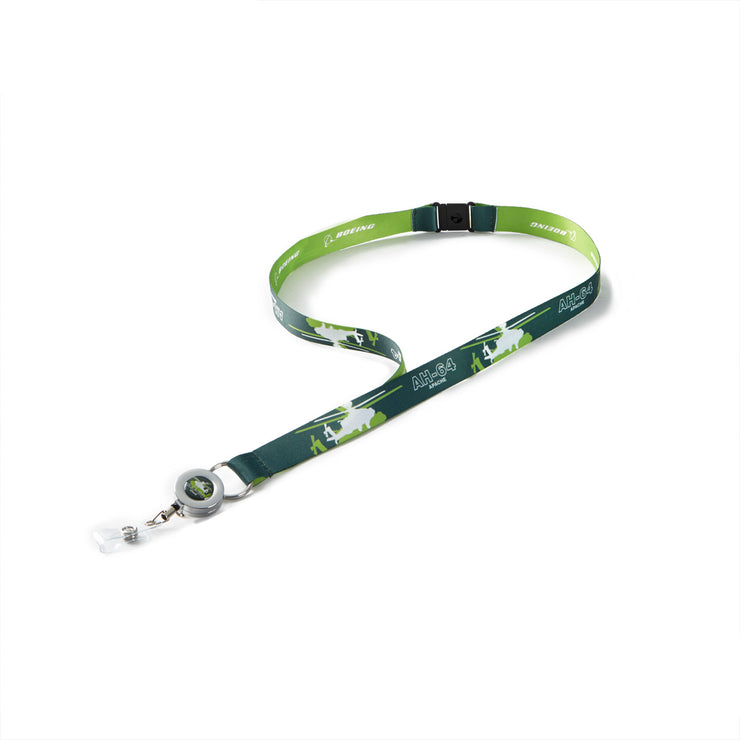 Boeing Shadow Graphic AH-64 Lanyard
